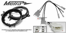 """Metra 82-8148 6"""" - 6.75"""" Speaker Adapter Install Parts Harness For Toyota"""