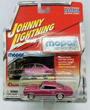 Johnny Lightning 1966 Dodge Charger Pink #8 NEW In Box1:64 Mopar No Car   *194