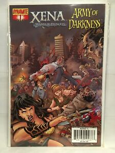 Xena Warrior Princess Army of Darkness #1 Cover A NM- 1st Print Dynamite Comics
