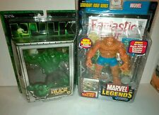 Marvel Legends Thing first appearance and Hulk Smash and Bash