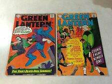 GREEN LANTERN #44,55 EVIL STAR, COSMIC ENEMY NUMBER ONE, 1966-1967