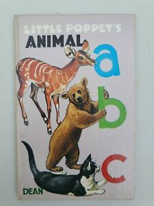 Vintage book Dean 1972 Little poppet's animal ABC Eunice Close animal pictures