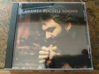 Andrea Bocelli - Sogno (1999) CD, Ex Cond