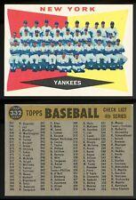 1960 Topps #332 Yankees Team EX/NM **AA-8268**