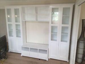 """Liatorp"" Classic Integrated Wall Unit Bookshelf Living Room Furniture"