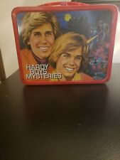 Vintage 1977 Hardy Boys Metal Lunch Box w/Thermos