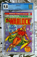 WARLOCK #9  |  CGC 9.8!!  | White pages | Marvel 1975 | Warlock dons new costume