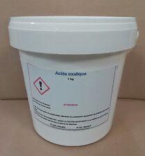 ACIDE OXALIQUE - SEL D'OSEILLE  1 kg