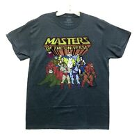 Masters of The Universe Men's He-Man Characters Licensed T-Shirt New