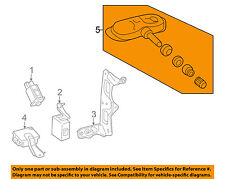 TOYOTA OEM 14-17 Tundra Tire Pressuring Monitoring-Sensor 426070C070