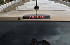 VAUXHALL ZAFIRA 2005-2013 Custom 3rd Brake Light Vinyl Car Sticker Overlay GSi
