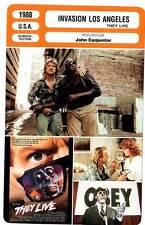 FICHE CINEMA : INVASION LOS ANGELES - John Carpenter 1988 They Live