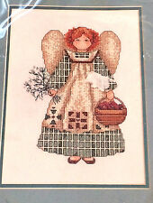 Counted Cross Stitch HARVEST ANGEL Bucilla Alma Lynne Designs 41401 8in x 11in