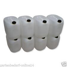 8 x 30 L weiß Kanister Getränkekanister Tank Behälter Wasserkanister Box NEU.