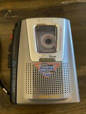 Sony TCM-20DV Cassette-Corder 2X Rec Time VOR Voice Operated Recording Portable