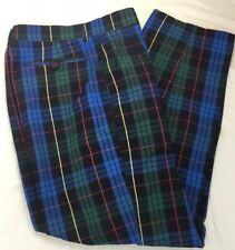 Vintage Union Bay Mens Pl 00004000 aid Pleated Pants ~ Sz 33 (actual 32x29.25) ~ Hong Kong
