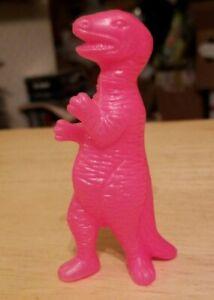 Vintage Tyrannosaurus rex action figure toy Dinosaur Prehistoric T-Rex Pink htf