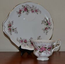 Royal Albert Vintage Lavender Rose Bone China Tea Cup And Saucer/Snack Plate