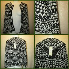 a738a2caad0 TOPSHOP Beaded Trophy Jacket 12 14 black white embellished evening party 30s