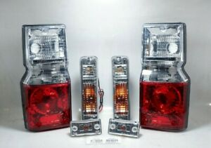 DAIHATSU ROCKY FEROZA BLIZZARD FRONT and SIDE TURN SIGNAL  + TAILLIGHT LAMP R/L