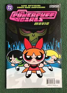 Powerpuff Girls Movie Comic Adaption DC Comics Modern Age Cartoon Network vf/nm