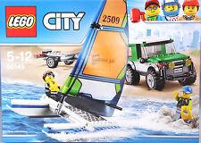 Lego City 60149 vehículos todo terreno con remolque catamarán 2 figuras accesorios nuevos