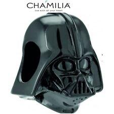 Brand New, Genuine, CHAMILIA 925 Silver STAR WARS DARTH VADER Charm