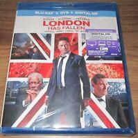 London Has Fallen (Blu-ray + DVD, 2016, 2-Disc Set)  .. sealed new