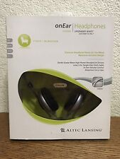Altec Lansing On Ear Headphones UHP304 New Open Box Sealed