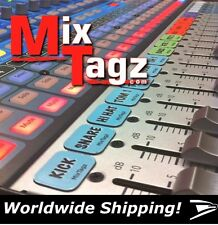 Magnetic Labels For SSL Consoles and Mixers