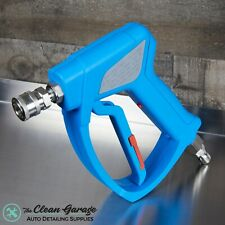 MTM Hydro Acqualine SGS35 Blue Spray Gun | Stainless Swivel & Quick Connects