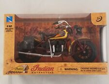 1934 Collectible Indian Sport Scout Motorcycle 1:12 Diecast New 2019