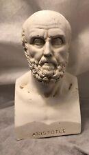 Aristotle Bust Greek Art Statue Handmade Sculpture 7.25 in