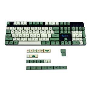 Matcha OEM Profile Dye Sub PBT Keycap Japanese Korean English For MX Keyboard