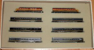 CON-COR N KANSAS CITY SOUTHERN SOUTHERN BELLE LIMITED EDITION PASSENGER SET