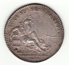 1725 Franco-Americain silver jeton '' Tresor Royal '' Compagnie des Indes