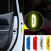 4x Safety Reflective Tape Open Warning Mark Car Door Sticker Strip Accessories