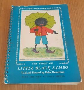 The Story of Little Sambo , Told and Pictured by Helen Bannerman, 1963 spiral