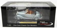 Signature Models 1/43 Scale PM43709 - 1950 Mercedes Benz 170S - Met Light Blue