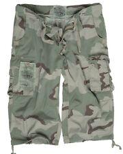 Air Combat 3/4 Pants prewashed desert camo