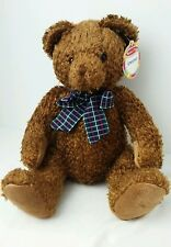 "Chestnut Teddy Bear Plush Melissa & Doug  12"" With Tags"