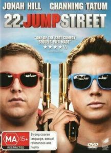 22 Jump Street DVD - SAME / NEXT DAY free POST from SYDNEY