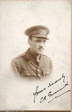 Officer C. A. Grossmith 6th Battalion East Lancashire Regiment