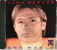 """JOHN DENVER - CD """"ONE WORLD"""""""