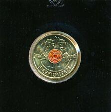 Australia 2020 Firefighter $2 Dollar coin - Lightly Circulated