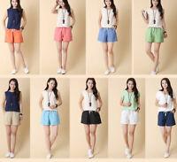 New Fashion Women Cotton Pants Summer Casual Loose Shorts Beach Short Trousers