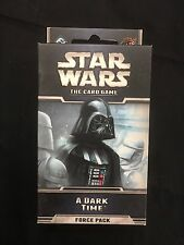 x2 (2 pack) Star Wars A Dark Time Force Pack  The Card Game - NEW TF