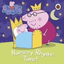 Peppa Pig: Nursery Rhyme Time, Ladybird Hardback Book