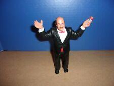 Vintage Mean Gene Okerlund LJN Titan Sports Wrestling Action Figure WWF FREE S/H