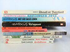 😅  10x politische Cartoons im Bücherpaket Sammlung Werner Uli Stein Far Side